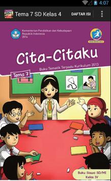 BSE Kur 2013 SD Kelas 4 Tema 7 poster