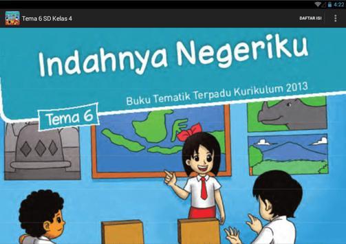 BSE Kur 2013 SD Kelas 4 Tema 6 apk screenshot