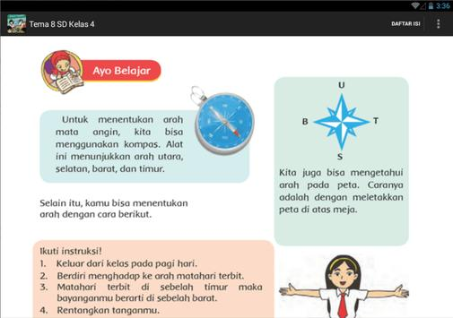 BSE Kur 2013 SD Kelas 4 Tema 8 apk screenshot