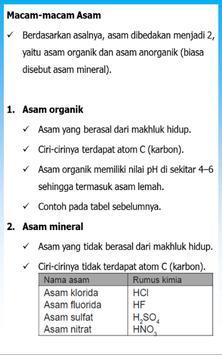 Rangkuman Kimia SMP apk screenshot