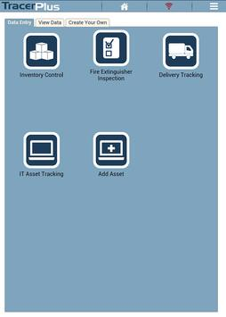 TracerPlus V8 Barcode Biz Apps apk screenshot