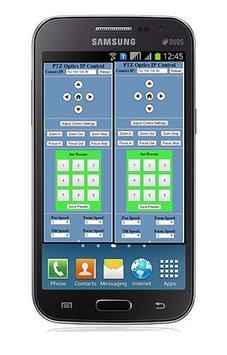 PTZOptics Camera Control App poster