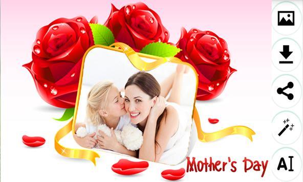 Mother's day photo frame apk screenshot