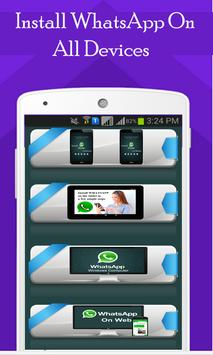 Install WhatsApp On All Device poster