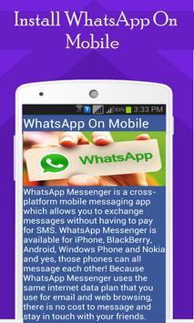 Install WhatsApp On All Device apk screenshot