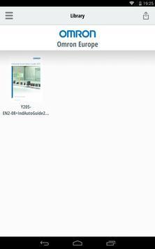 Omron Library apk screenshot