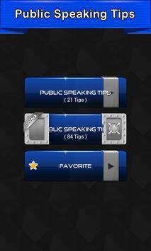 Public Speaking Tips apk screenshot