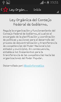Leyes Consejos Comunales apk screenshot
