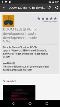 GameQ: Doom (2016) Guides apk screenshot