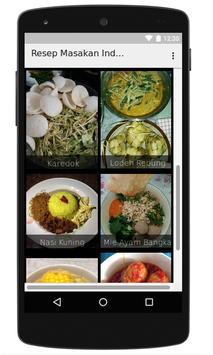 Aneka Resep Masakan Indonesia apk screenshot