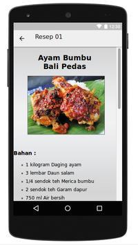 Kumpulan Resep Ayam apk screenshot