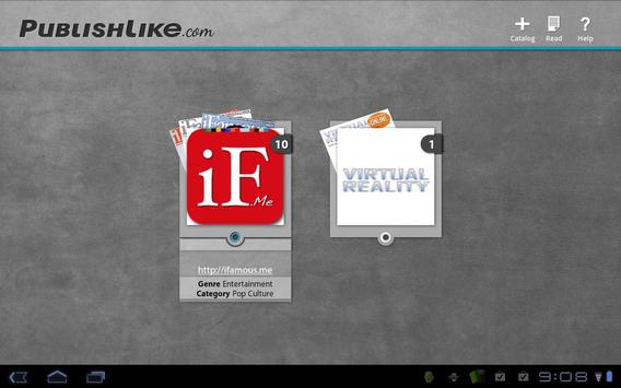Publishlike apk screenshot
