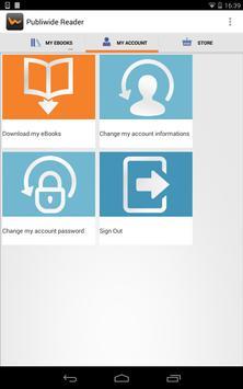 Publiwide Reader EPUB3 & EPUB2 apk screenshot