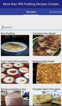 Pudding Recipes Complete apk screenshot
