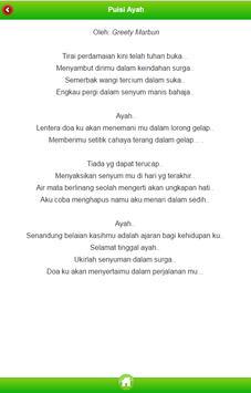 Kumpulan Puisi untuk Ayah apk screenshot