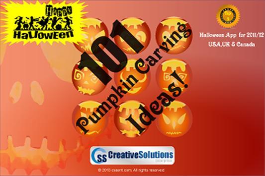 101 Pumpkin Carving Ideas Free poster