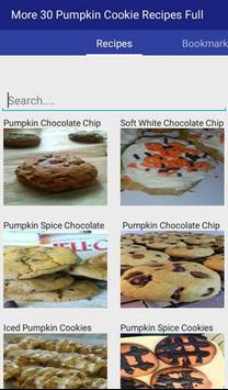 Pumpkin Cookie Recipes Full apk screenshot