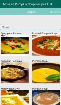 Pumpkin Soup Recipes Full apk screenshot