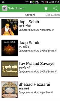 Sikh Nitnem + Live Gurbani poster