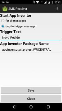 Pedido SMS apk screenshot