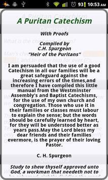 A Puritan Catechism apk screenshot