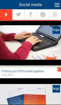 myHCPC apk screenshot