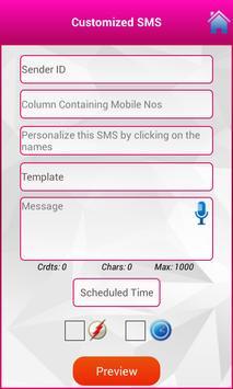 Quick SMS apk screenshot