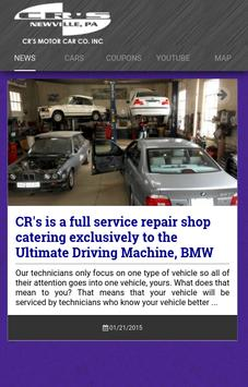 CR Bimmers poster