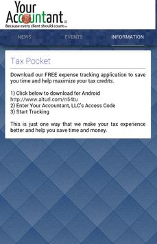 Your Accountant LLC apk screenshot