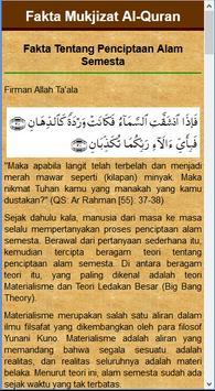 Mukjizat Keagungan Al-Quran apk screenshot