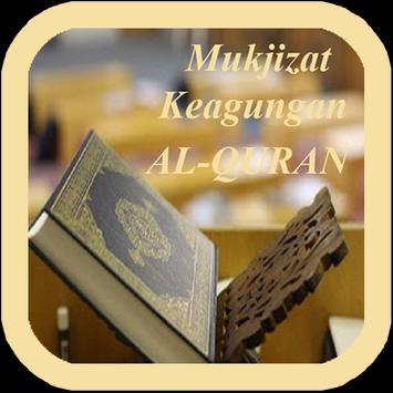 Mukjizat Keagungan Al-Quran poster