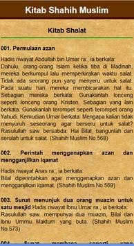 Kitab Shalat Shahih Muslim apk screenshot