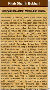 Kitab Thaharah Shahih Bukhari apk screenshot