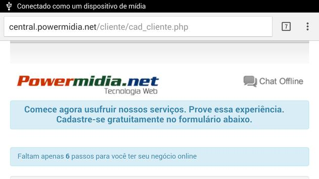Powermidia.net apk screenshot