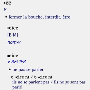 Kroumen piè Dictionnaire apk screenshot