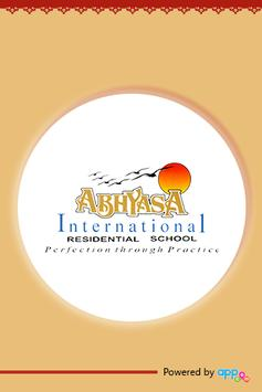 Abhyasa International School poster