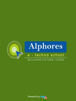 Alphores eTechno School apk screenshot
