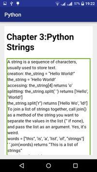 Python Cheat Sheet apk screenshot