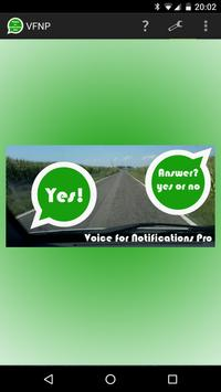 Voice for Notifications Pro poster