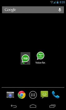 Voice for Notifications apk screenshot