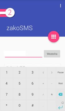 zakoSMS apk screenshot
