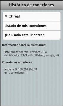 Mi IP apk screenshot
