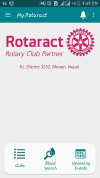 My Rotaract poster