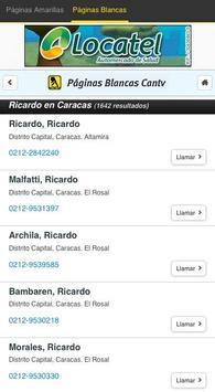 Páginas Amarillas Venezuela apk screenshot