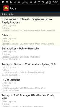 Linfox Jobs apk screenshot