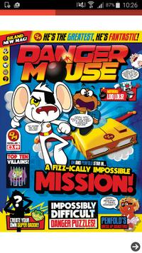 Danger Mouse Magazine poster
