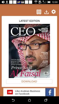 CEO Middle East poster