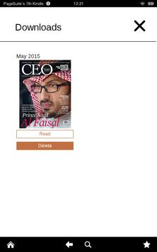 CEO Middle East apk screenshot