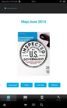 GovExec Mag poster