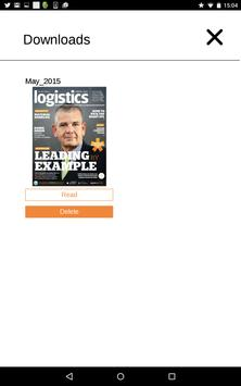Logistics ME apk screenshot
